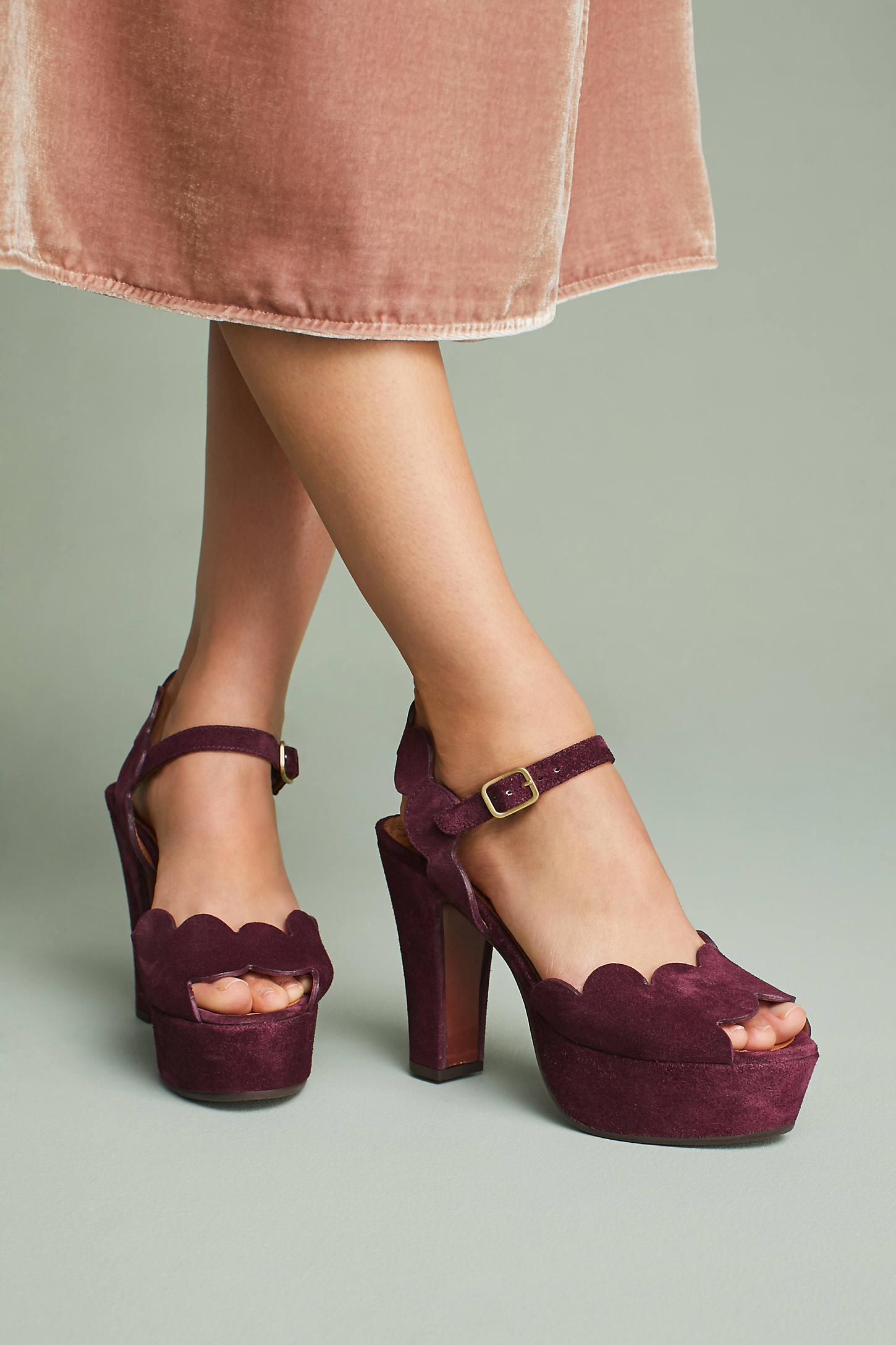 Chie Mihara Xevo Scalloped Heels