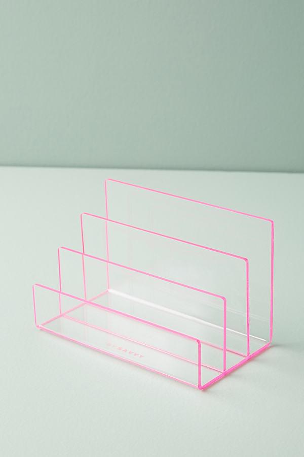 Acrylic Letter Sorter - Pink