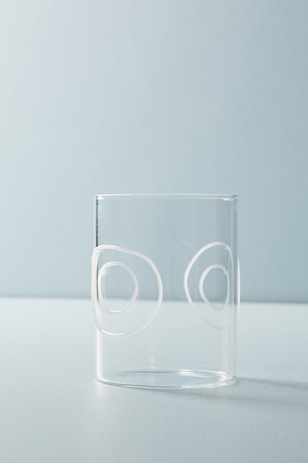 Geo Glass - White, Size Juice