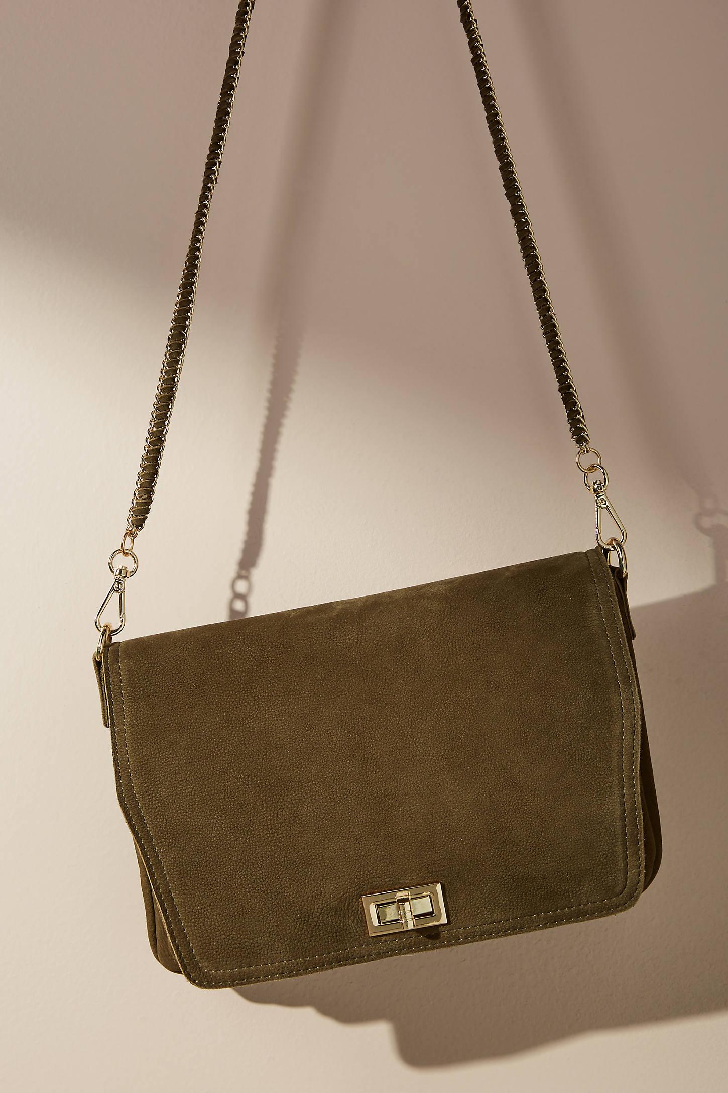 Desert Suede Crossbody Bag