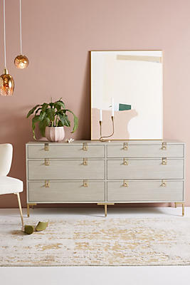 Slide View: 1: Ingram Six-Drawer Dresser