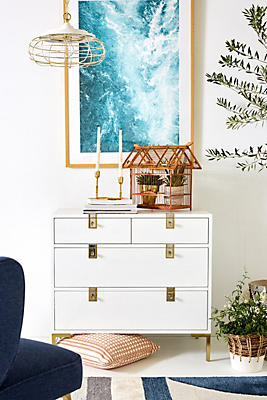 Slide View: 1: Ingram Four-Drawer Dresser
