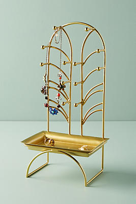 Slide View: 1: Art Nouveau Jewelry Stand