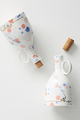 Slide View: 1: Mela Oil & Vinegar Cruet Set