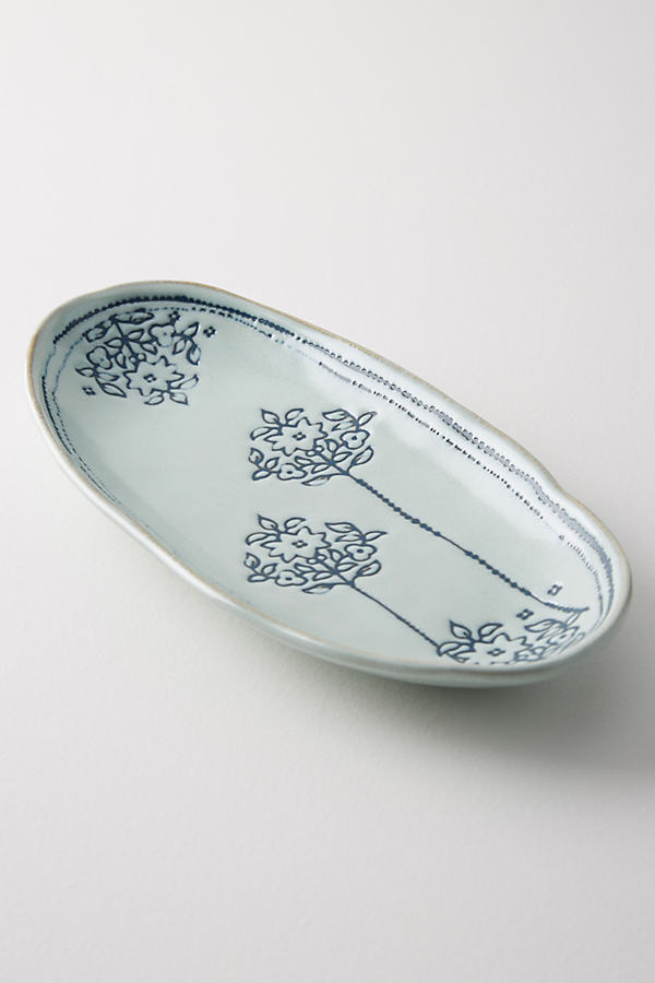 Giada Platter - Denim Light, Size Pltr/tray