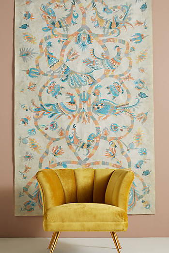 Lily Birds Tapestry
