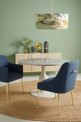 Slide View: 1: Performance Wool Elowen Dining Chair