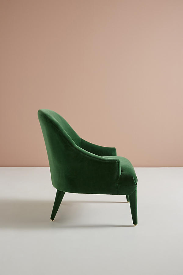 Slide View: 4: Chaise d'appoint Amelia