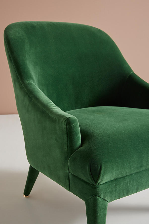 Slide View: 6: Chaise d'appoint Amelia