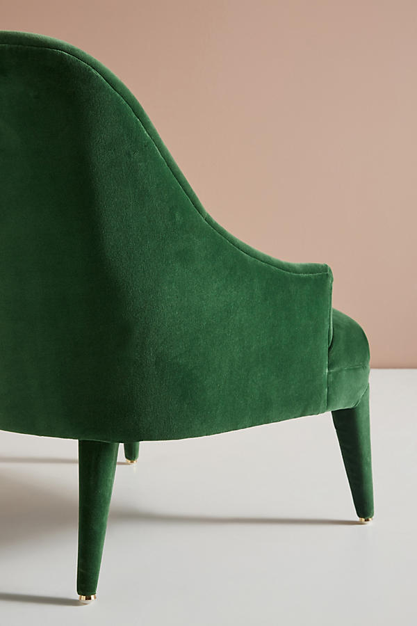 Slide View: 7: Chaise d'appoint Amelia