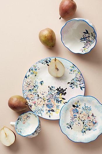 Gift registry anthropologie gardenshire dinner plate junglespirit Gallery