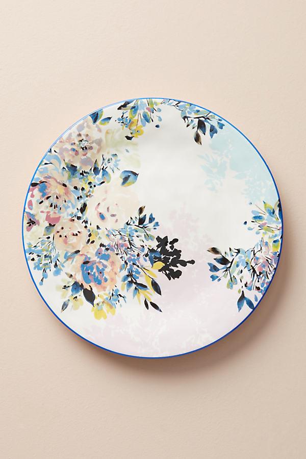 Gardenshire Dinner Plate - Blue Motif, Size Dinner