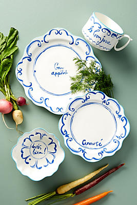 Slide View: 2: Hilde Phrase Dinner Plate