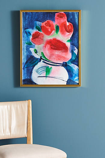Abstracted Bouquet Wall Art