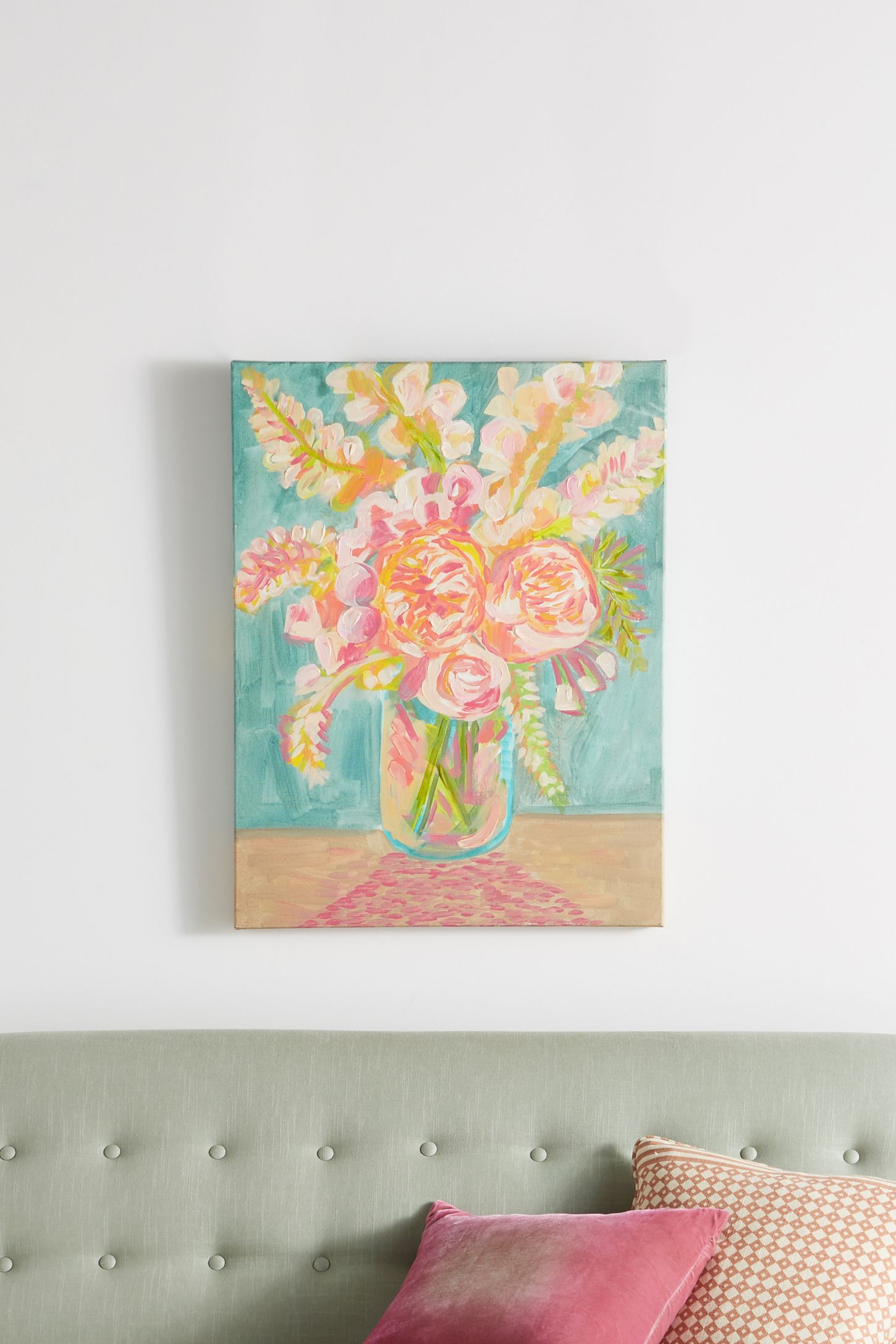 Wall art wall mirrors wall dcor anthropologie flowers of confidence wall art amipublicfo Gallery