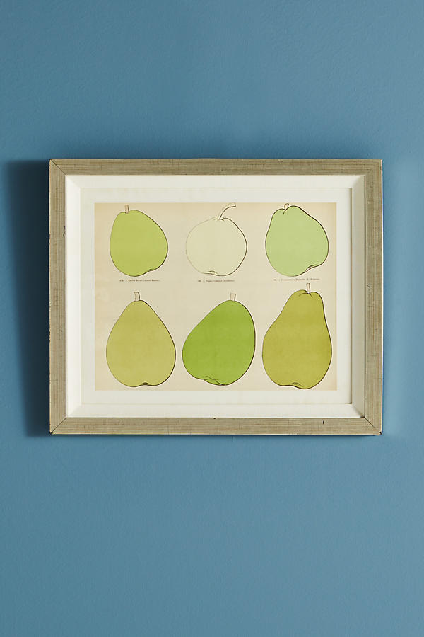 Slide View: 2: Modern Pear Wall Art