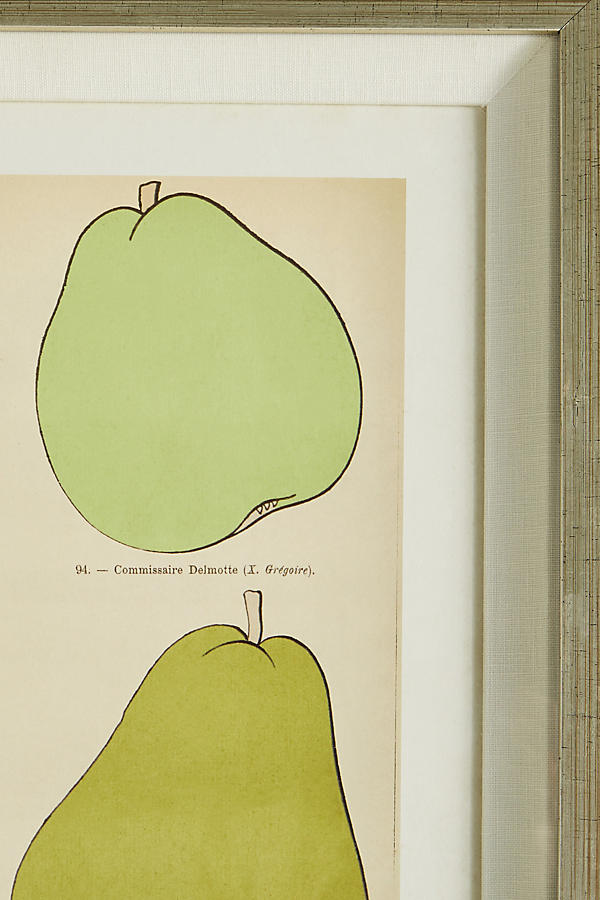 Slide View: 4: Modern Pear Wall Art
