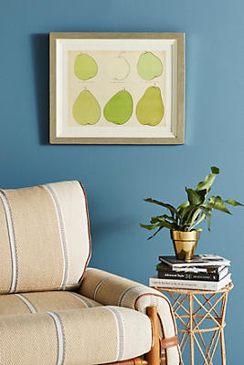 Slide View: 1: Modern Pear Wall Art