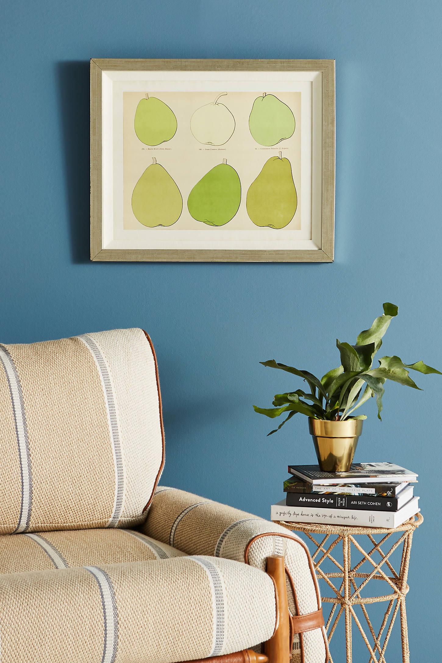 Modern Pear Wall Art