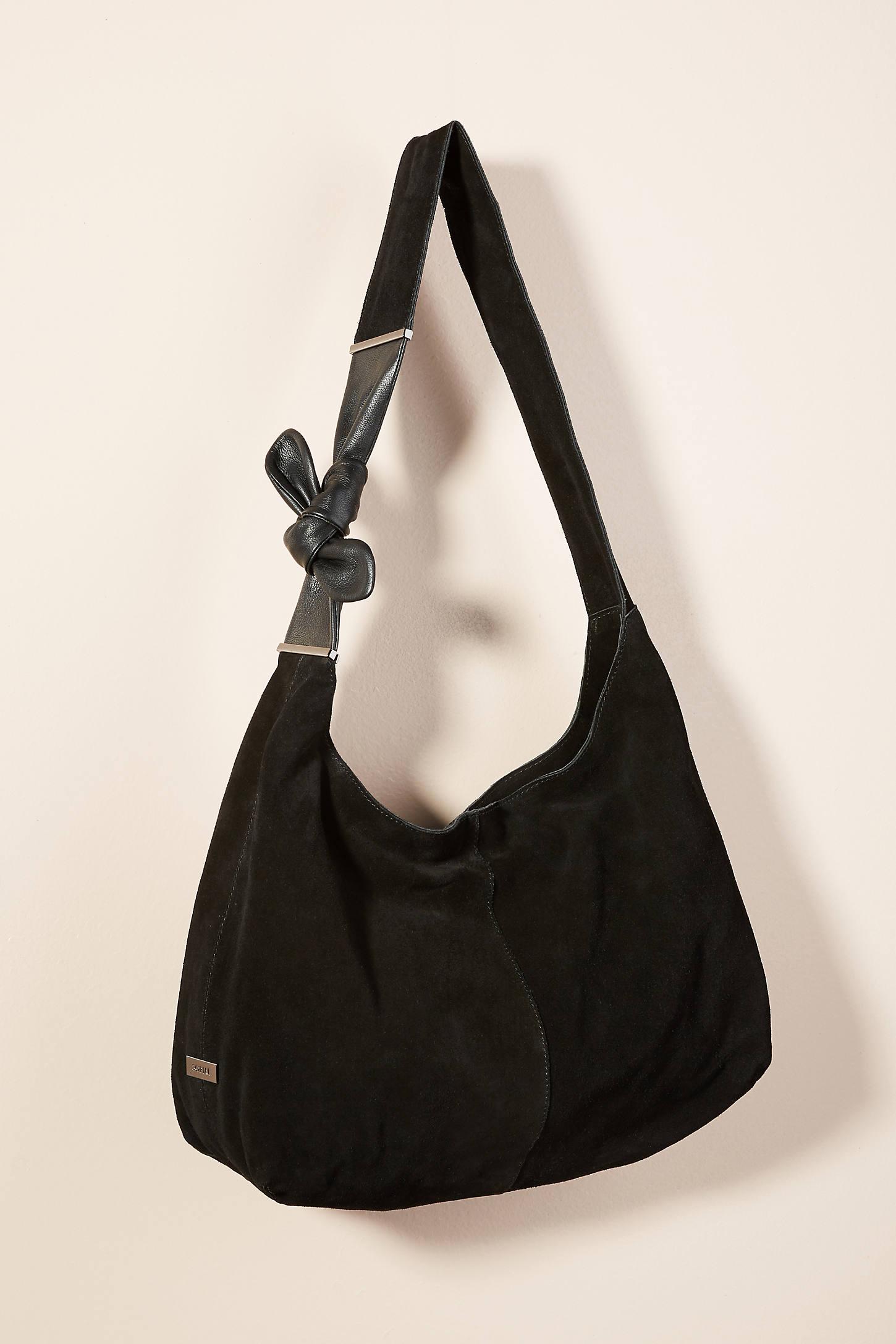 Lisa Suede Shoulder Bag