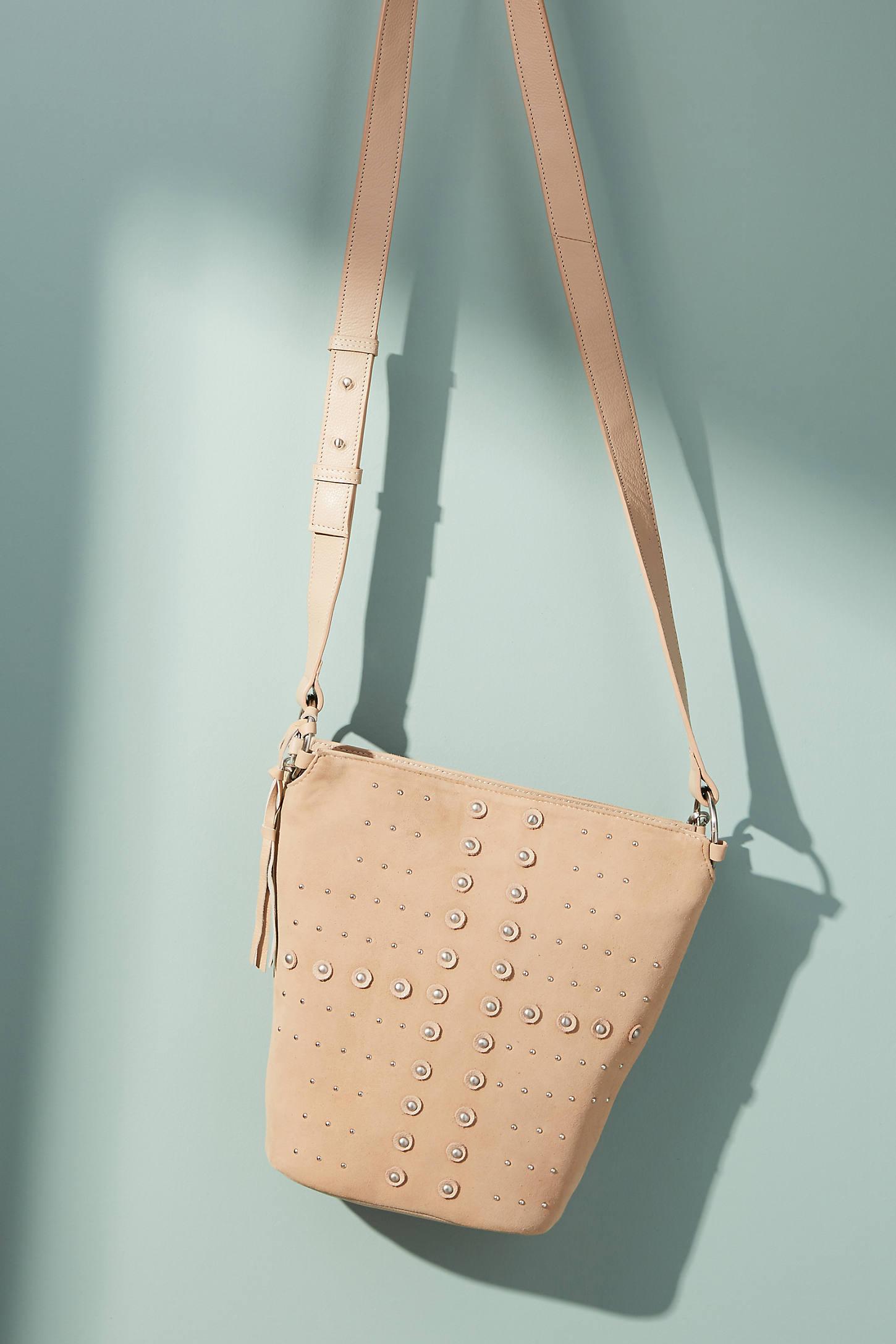 Mia Studded Bucket Bag