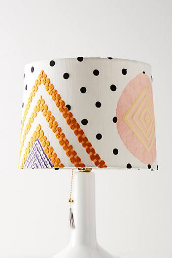 Shape study lamp shade