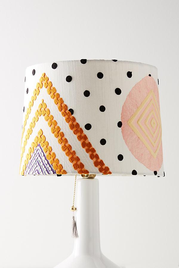 Shape Study Lamp Shade - Orange, Size L