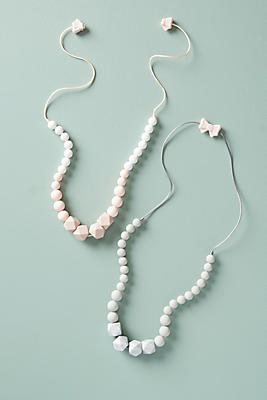 Slide View: 2: Beaded Teething Necklace