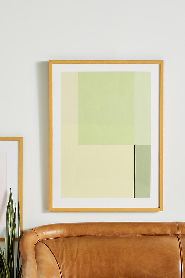 Agnes Greens Imagined Wall Art - Green, Size M