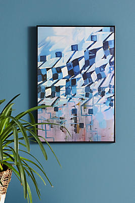Slide View: 1: Houndstooth Series Wall Art
