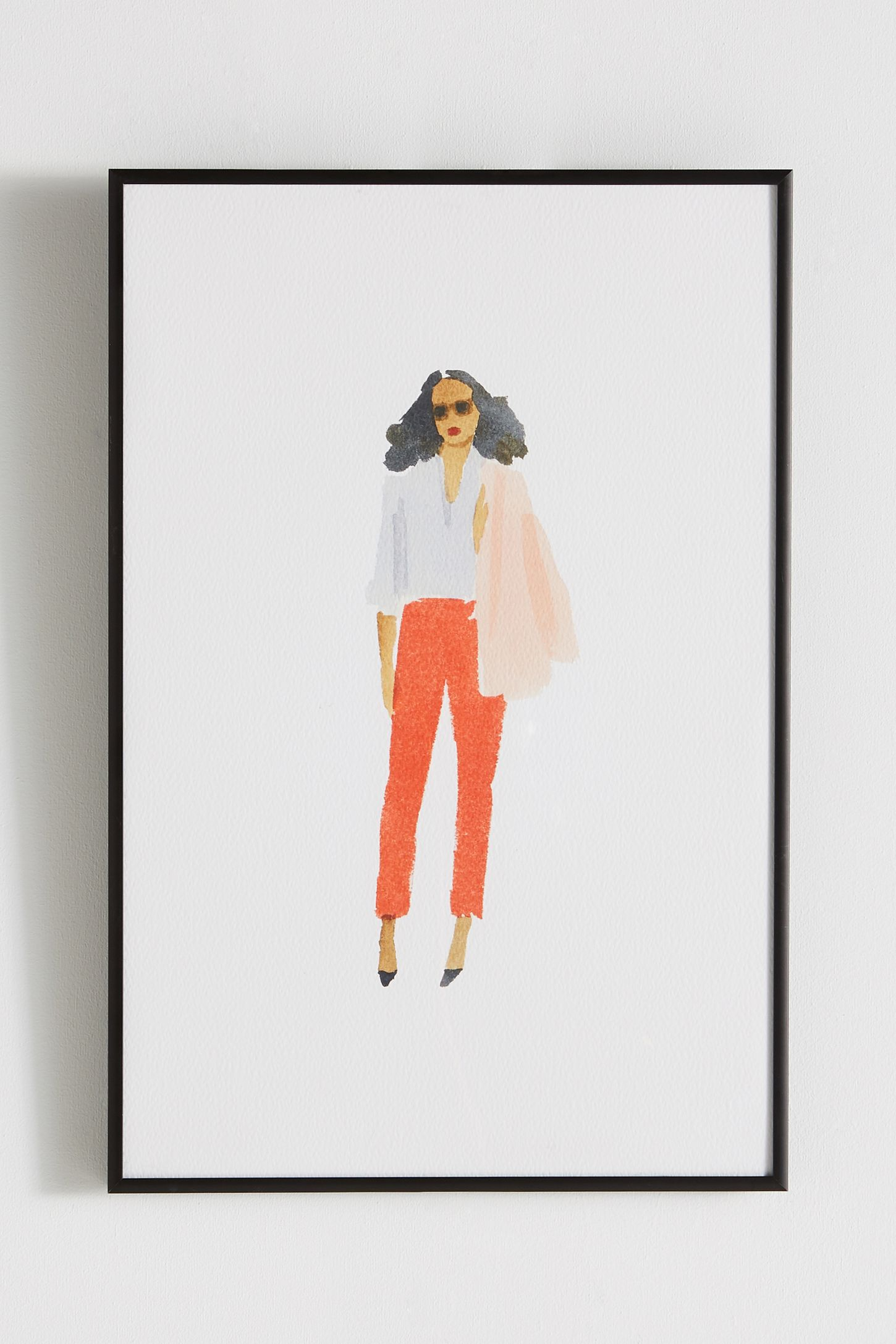 Wall art wall mirrors wall dcor anthropologie pink jacket wall art amipublicfo Image collections