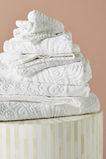 Kassatex Francesca Sculpted Paisley Towel Collection. Bathroom Decor   Accessories   Anthropologie