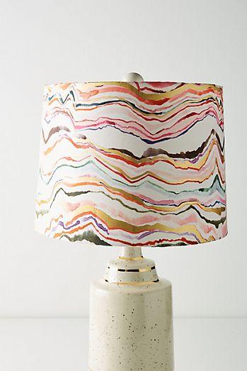 Gold lamp shades unique lamp shades anthropologie marini lamp shade aloadofball Image collections
