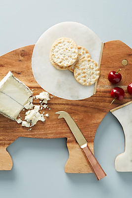 Slide View: 1: Elephant Cheese Board