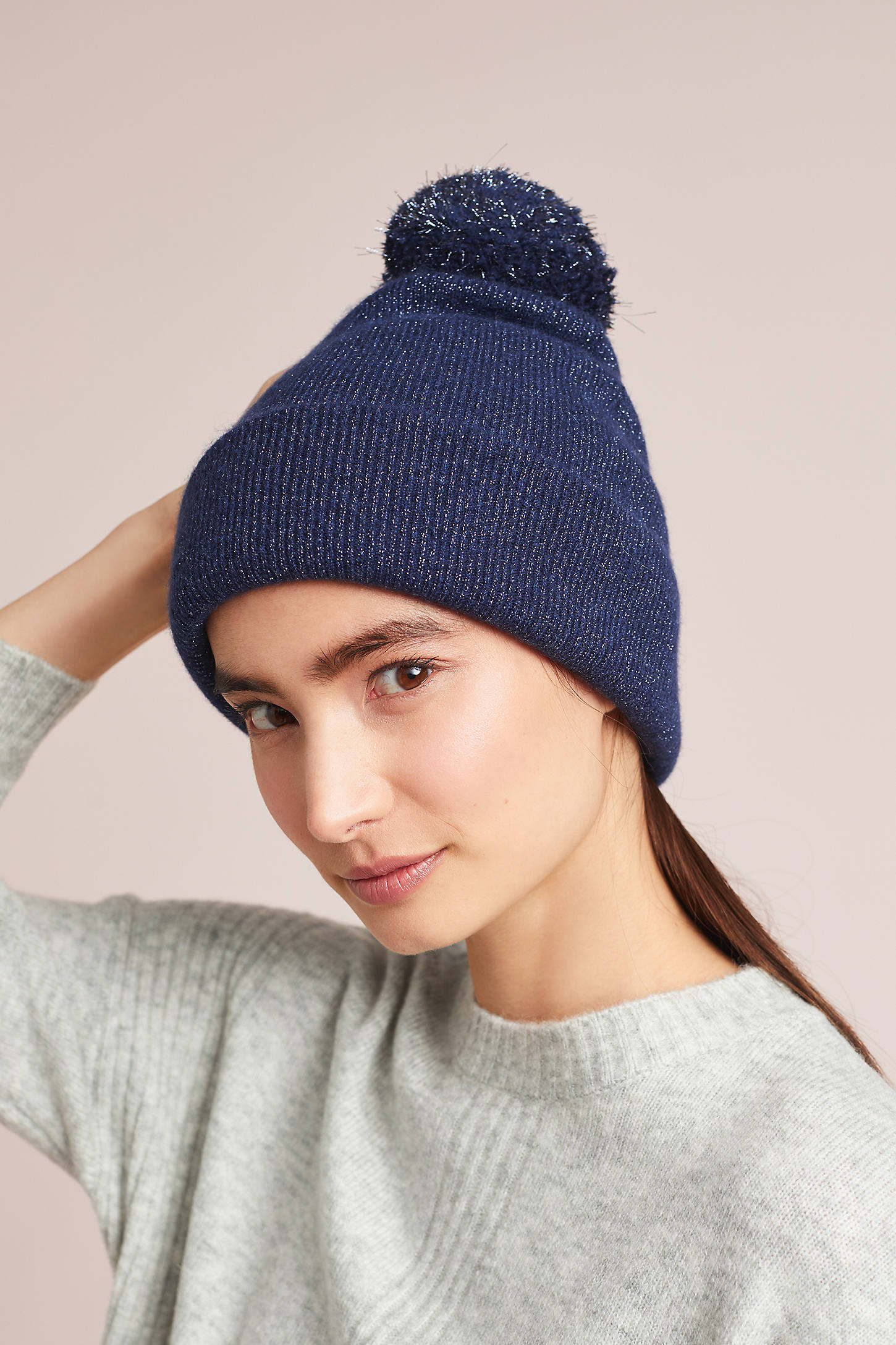 Shining Cashmere Beanie