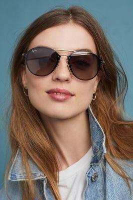 Ray Ban Blaze Double Bridge Sunglasses Anthropologie