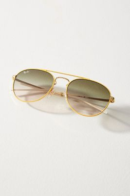 Ray Ban Round Double Bridge Sunglasses by Ray Ban