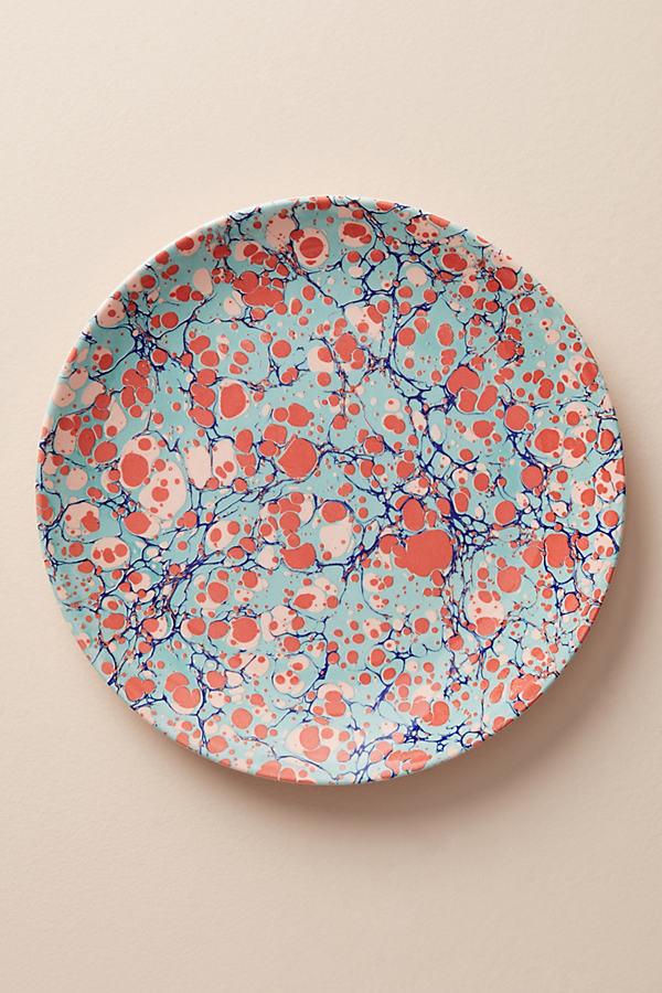 Metascape Dinner Plate - Dark Turquoise, Size Dinner