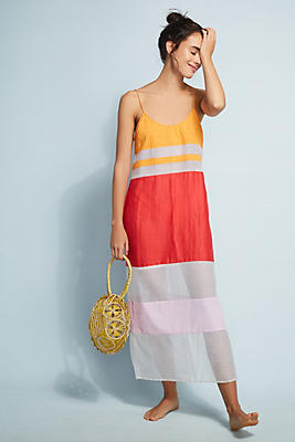 Slide View: 1: Flagpole Lexi Striped Dress