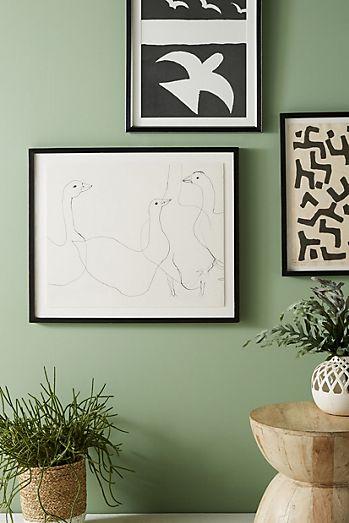 Geese Wall Art