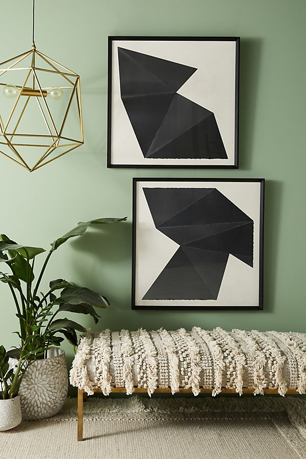 Slide View: 3: Origami Wall Art