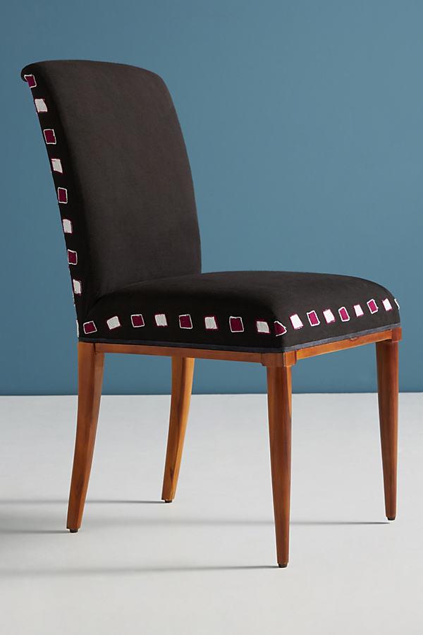 Deja Chair - Blue Motif