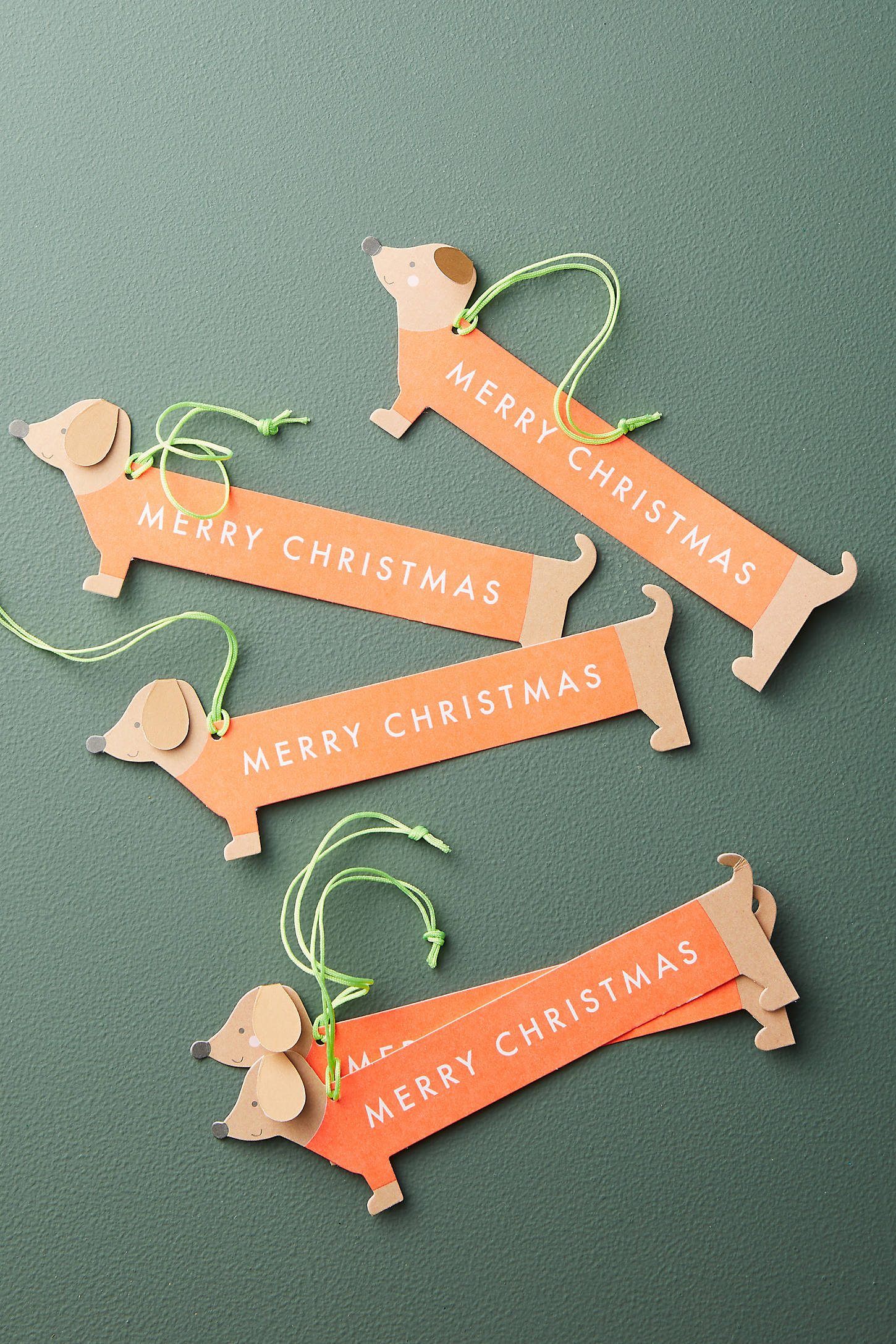 Dachsund Gift Tags