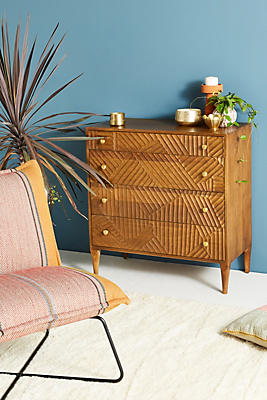 Slide View: 6: Paje Carved Dresser