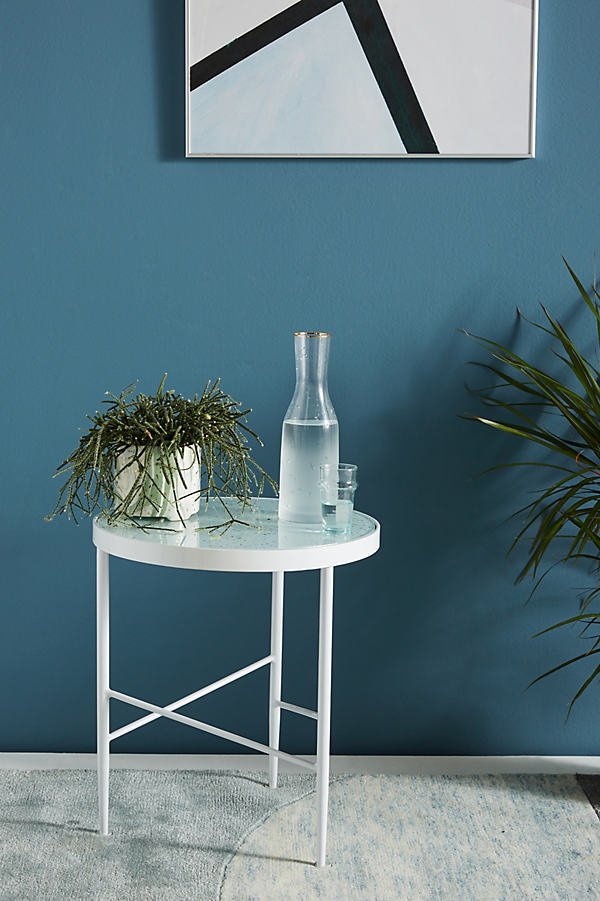 Flekka Side Table - White