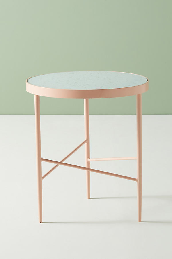 Flekka Side Table - Peach