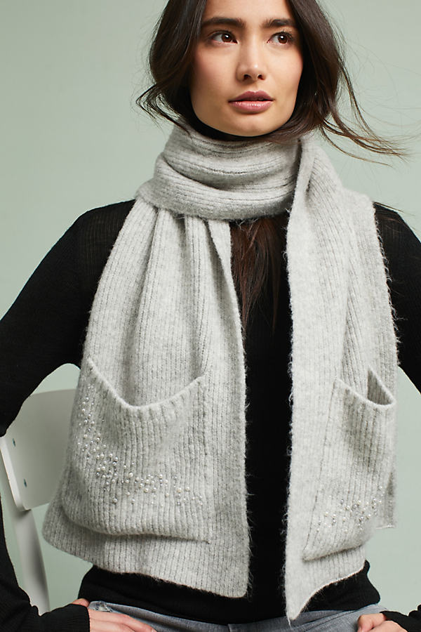 Pocket Scarf - Grey