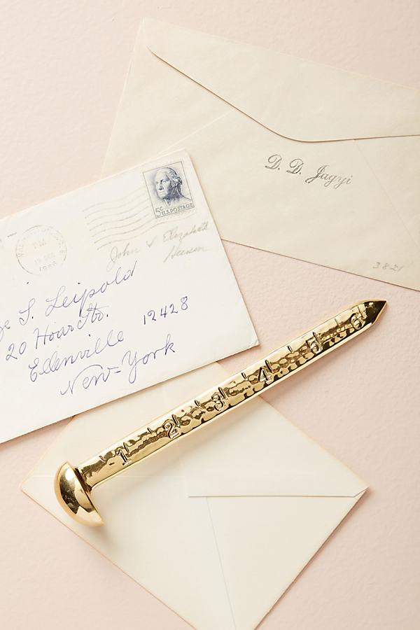 Eugena Letter Opener - Gold