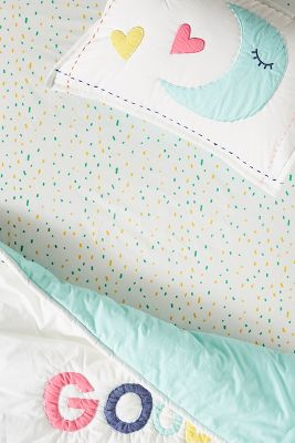 Confetti Crib Sheet by Anthropologie