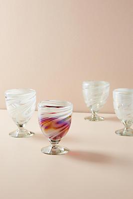 Slide View: 1: Jupiter Wine Glasses, Set of 4